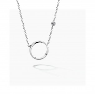 FJF Jewellery Collier Silber 925/- Circle 82550, 9120081463264