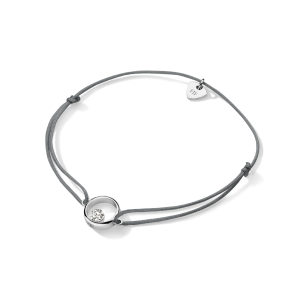 FJF Jewellery Armband Symbol Herz silber grau 82206, 9120081462434