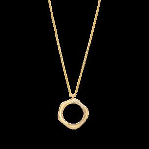 Xenox Collier silbervergoldet 925/- - Zirkonia 83749, 9010050080816