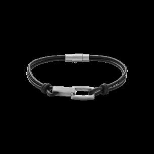 Xenox Armband Leder-Stahl 83706, 9010050080106