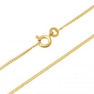 Taufkette Gold 585 in Länge 36-38cm