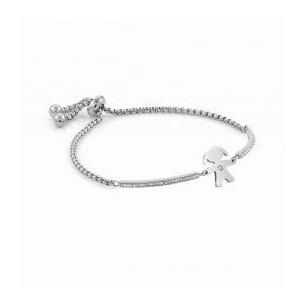 Nomination Armband Stahl - Mädchen mit Zirkonia 83960, 8033497496867