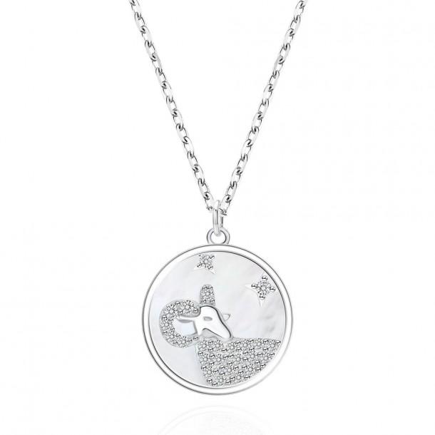 Juwelier Waschier Kette mit Sternzeichen Widder - Perlmutt & Zirkonia 84123,