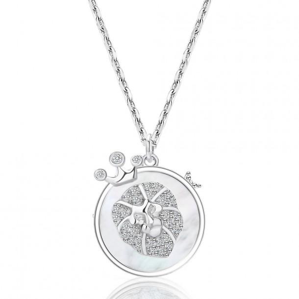 Juwelier Waschier Kette mit Sternzeichen Löwe - Perlmutt & Zirkonia 84128,