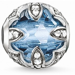Thomas Sabo - Karma Beads Lotos blau 53389, 4051245129588