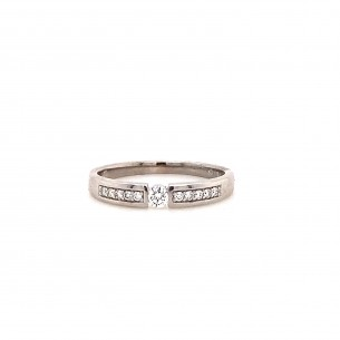 Palido Ring, Weißgold, 750/-,Brill. 84280, 9010595441592
