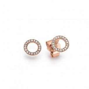 Palido Ohrstecker, Rosegold, 585/- Brillant, 0,5cm Durchmesser 84277, 9010595770333