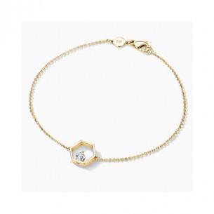 FJF Jewellery Armband Icon Pentagon Gelbvergoldet 84604, 9120081461376