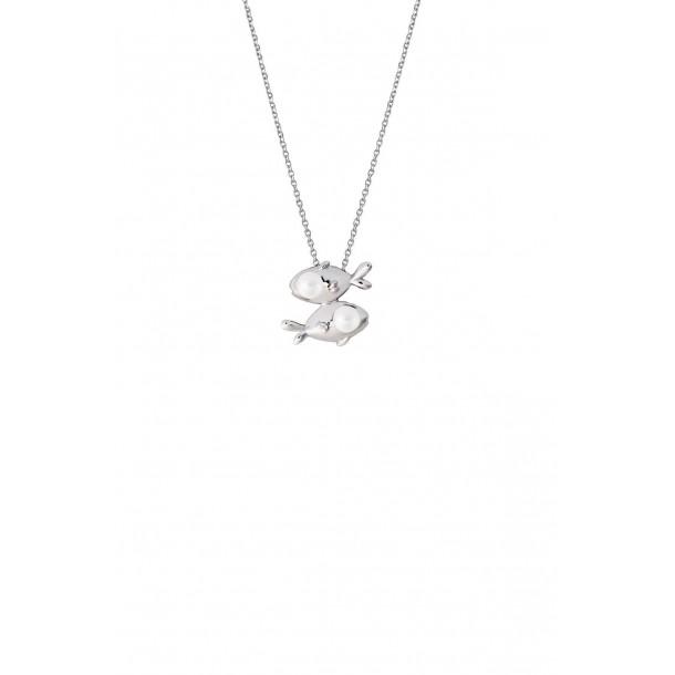 Damencollier mit Sternzeichen und synthetischer Perle, XS2952