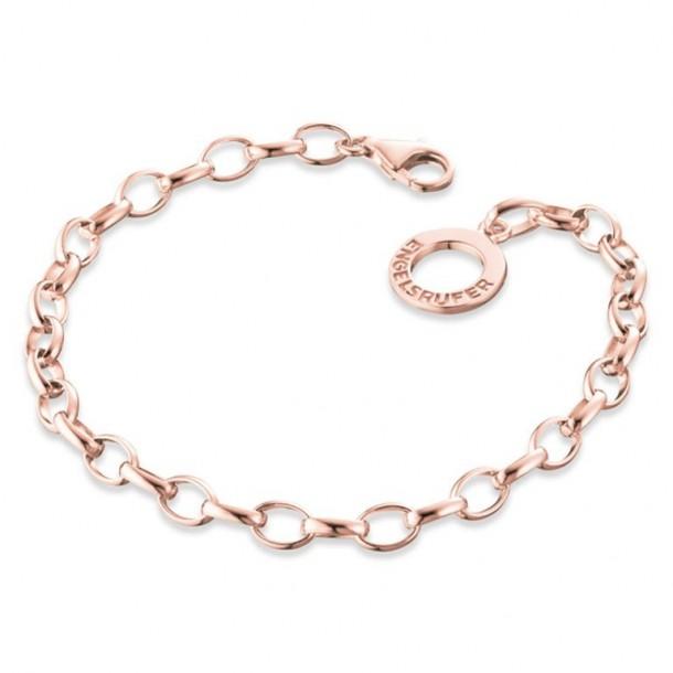 ERB-195-R, Engelsrufer Armband rosé plated 19,5cm
