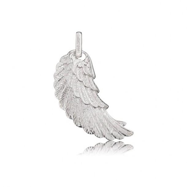 ERW-L2, Engelsrufer Flügel detailiert silber groß
