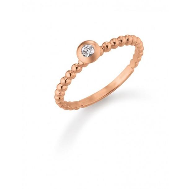 DW1514/55, Verlobungsring Gold