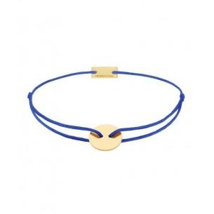 21200389, Armband Momentoss - Textilband Royalblau