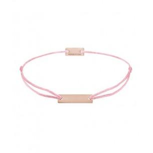 21200344, Armband Gravurplatte - Textilband rosa