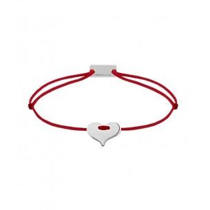 21200217, Armband Momentoss - Herz Textilband rot