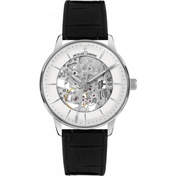 N-207A, mechanische Armbanduhr skelettiert