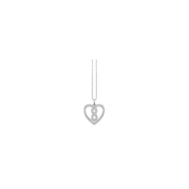 KE1497-051-14-L45V, Thomas Sabo Herzcollier - Infinity Silber
