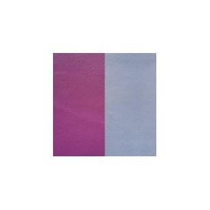 LEDA1-25, Lederband Zubehör - purple - eisblau