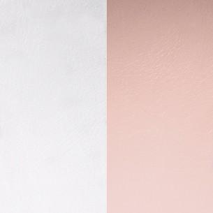LEDMP-25, Lederband Zubehör - rosa-grau