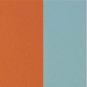 LEDMU-40, Lederband Zubehör- orange-mint