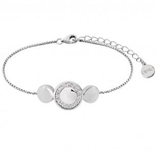 XS1586, Armband Silber 925/- Zirk. 15-18,5 cm