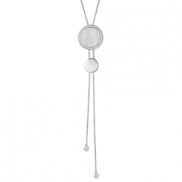 XS1584, Collier Silber  925/- Zirkonia