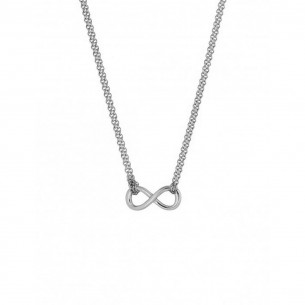 Collier Stahl - Unendlichkeit, X2571