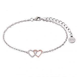 Armband mit Herzen silber rosé, XS2929R