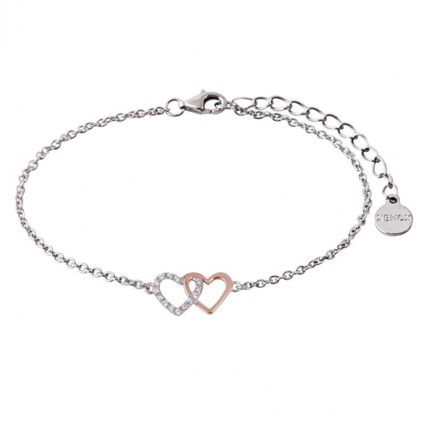 XS2929R, Armband mit Herzen silber rosé