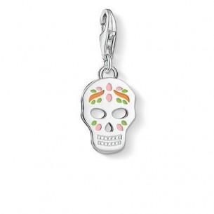 1436-007-21, Anhänger Charm - mexikanischer Totenkopf