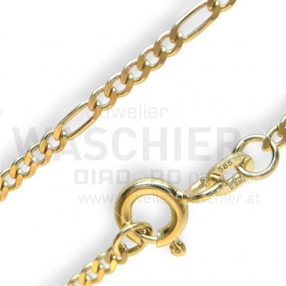 Diadoro Goldschmuck G15342/4042, Goldkette Figaro 40/42cm