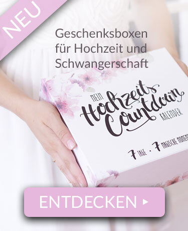 Jetzt NEU: Geschenkboxen für Hochzeit und Schwangerschaft