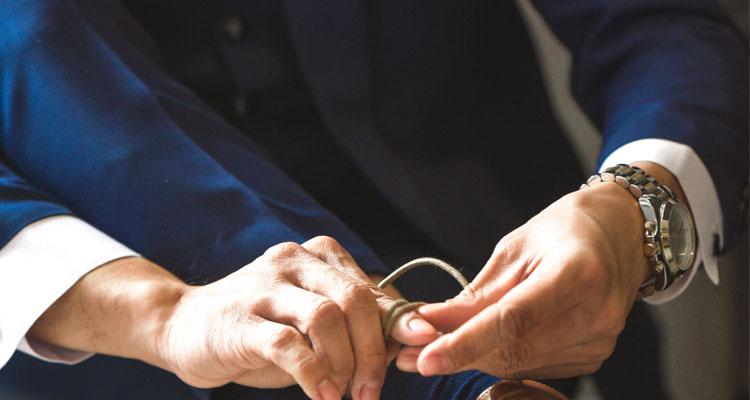 Bräutigamschmuck - Accessoires für den Bräutigam