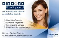 Diadoro Juwelier Quality Card - DIE Uhren Schmuck Kundenkarte