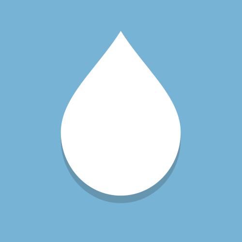Wassertropfen hinter Uhrglas - die Uhr ist nass!